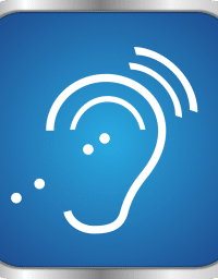 assistive listening device logo